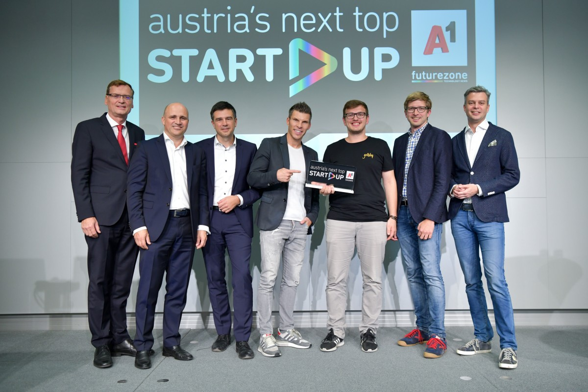 Austria's Next Top Start Up ist Getsby